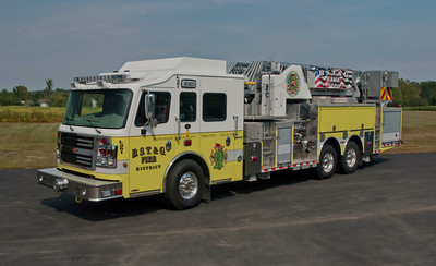 BST&G Fire District L-351 2013 Rosenbauer Commander EXT 2000-300 100' d
