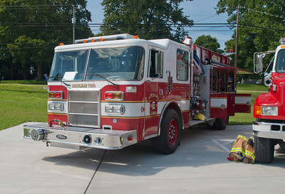 Hocking Twp Fire Dept E-651 1993 Pierce Dash 1250-1000 b