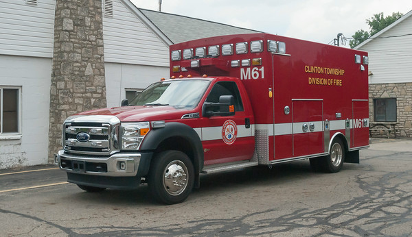 Clinton Twp Division of Fire M-61