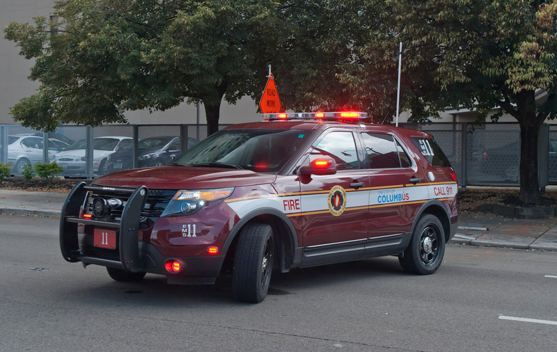 CFD EMS-11 2012 Ford Explorer Police Interceptor Utility aa