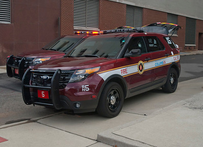 CFD Bat-5 2012 Ford Explorer Police Interceptor Utility aa