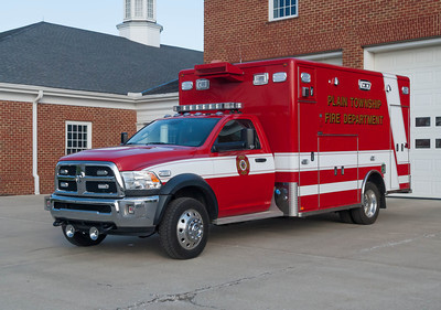 Plain Twp Fire Dept M-121 2014 Horton Dodge Ram 3500 SLT a