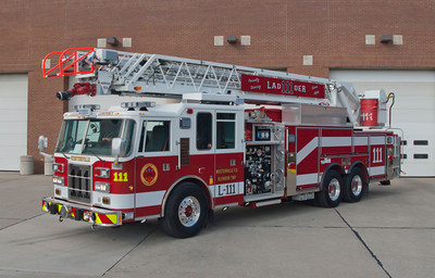 Westerville FD L-111 1998-2013 Pierce Dash 105' 1500-200 a