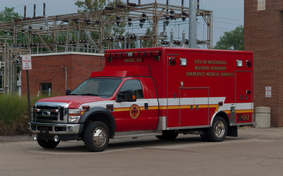 Westerville FD M-112 2007 Road Rescue Ford F-550 a