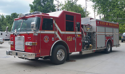 Whitehall Division of Fire E-151 2007 Pierce Enforcer 1500-500 aaaaa