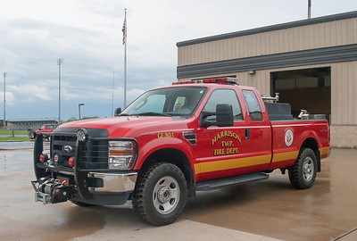 Harrison Twp Fire Dept GF-801 2008 Ford F-350 200 a