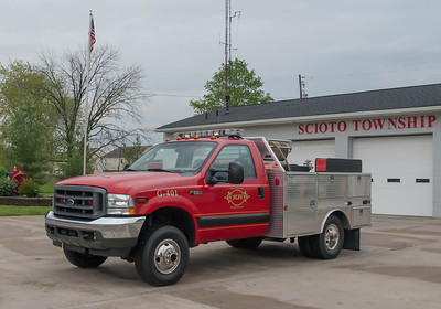 Scioto Twp Fire Dept G-401 2008 Ford F-350 250-50 a