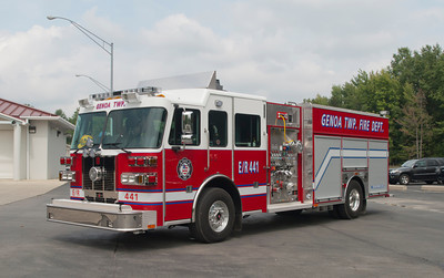 Genoa; Twp; Fire; Dept; 2013; Sutphen; Monarch; 1750; 750; 40 CAFS