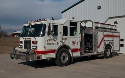 Scioto Twp Fire Dept E-371 Pierce Contender aa