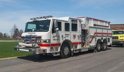 Scioto Twp Fire Department E-372 2012 Pierce Impel 1500-2470-30a