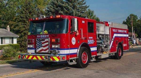 Violet Twp Fire Dept E-593