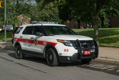 CFD K9-4 2012 Ford Explorer Police Interceptor a