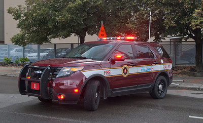 CFD EMS-11 2012 Ford Explorer Police Interceptor Utility aaa