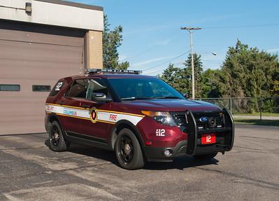 CFD EMS-12 2012 Ford Explorer Police Interceptor Utility a