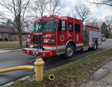 Columbus Division of Fire E-11 2015 Sutphen Monarch 1500-750b