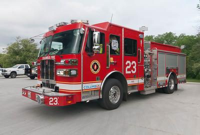 Columbus Division of Fire E-23