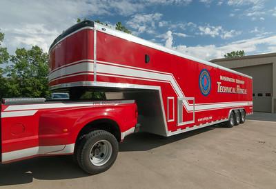 Washington Twp Fire Dept Haz93Mat 2007 Wells Cargo Trailer a