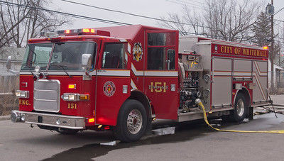 Whitehall Division of Fire E-151 2007 Pierce Enforcer 1500-500 aa