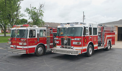 Central Twp Joint Fire District E-292 1990 Sutphen 1250-1000 & 2013 Sutphen 1500-1000 a