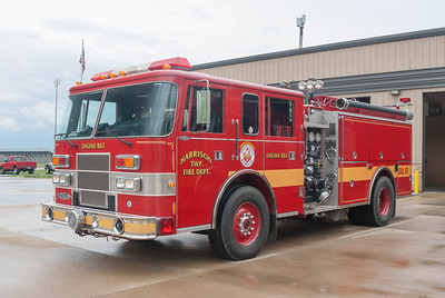 Harrison Twp Fire Dept E-802 1995 Pierce Saber 1250-1000 a