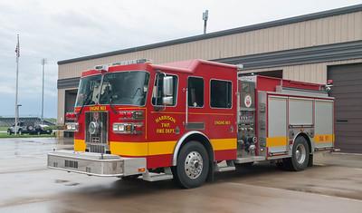 Harrison Twp Fire Dept E-803 2008 Sutphen 1500-2100 a