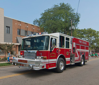 Alliance Fire Dept ER-13 2013 Pierce Saber 1500-500 a